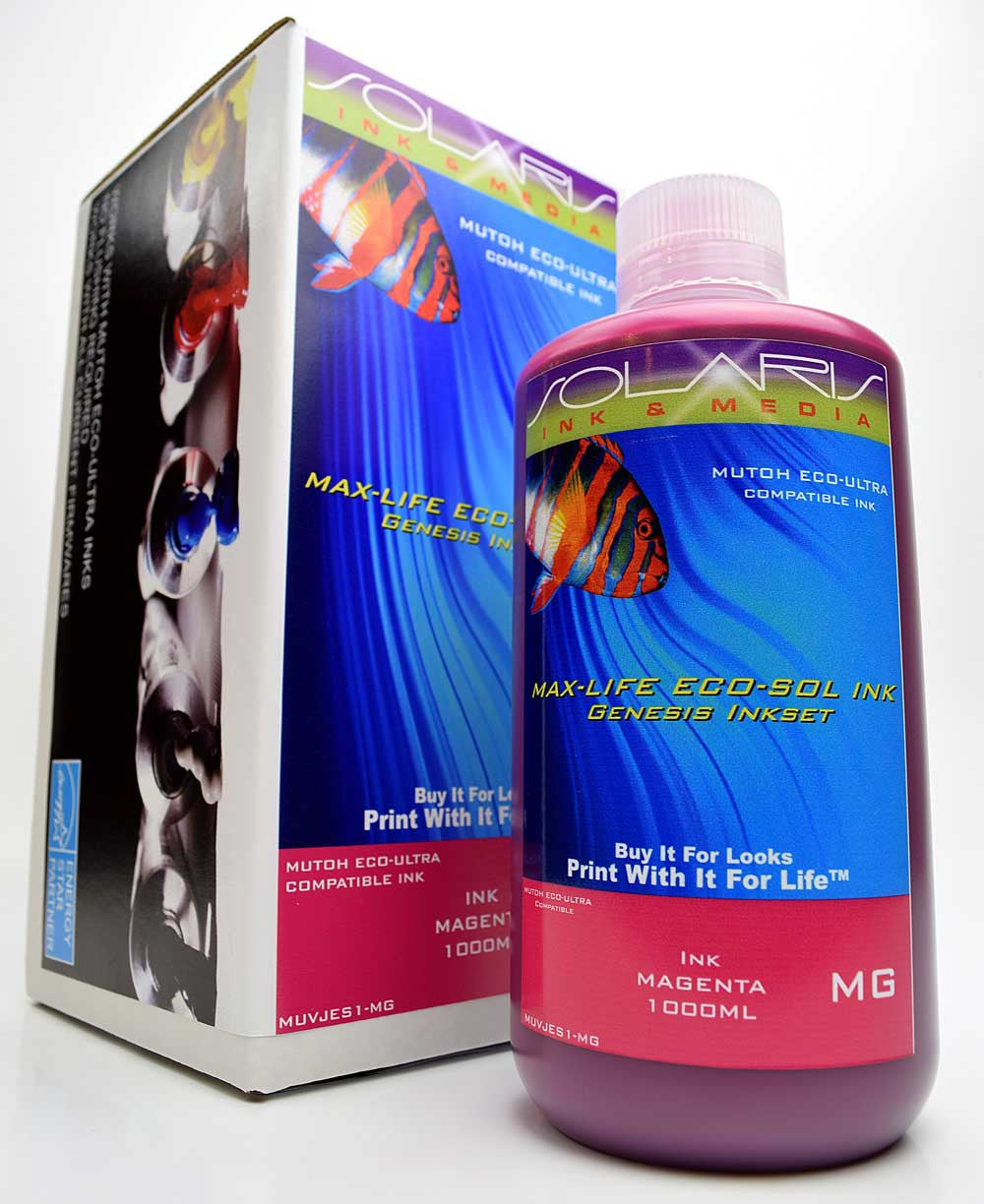 Mutoh Eco-Ultra Ink Magenta 1 Liter