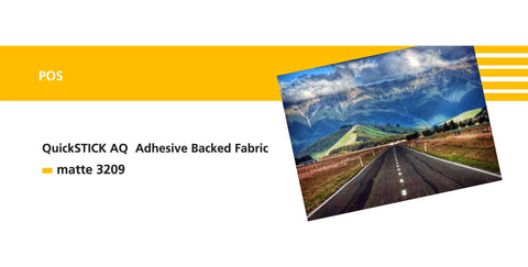 Sihl 3209 QuickSTICK AQ Self Adhesive Fabric 13 mil
