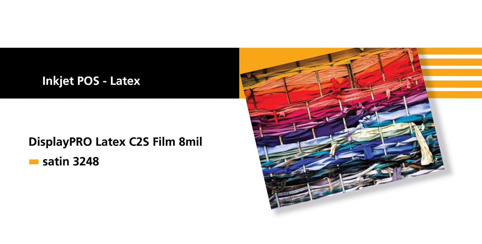 Sihl 3248 Display PRO 8 Latex C2S Film 8 mil