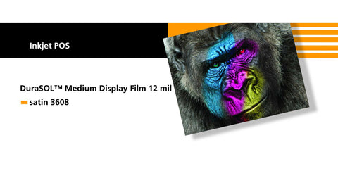 Sihl 3608 DuraSOL Medium Display Film 12 mil