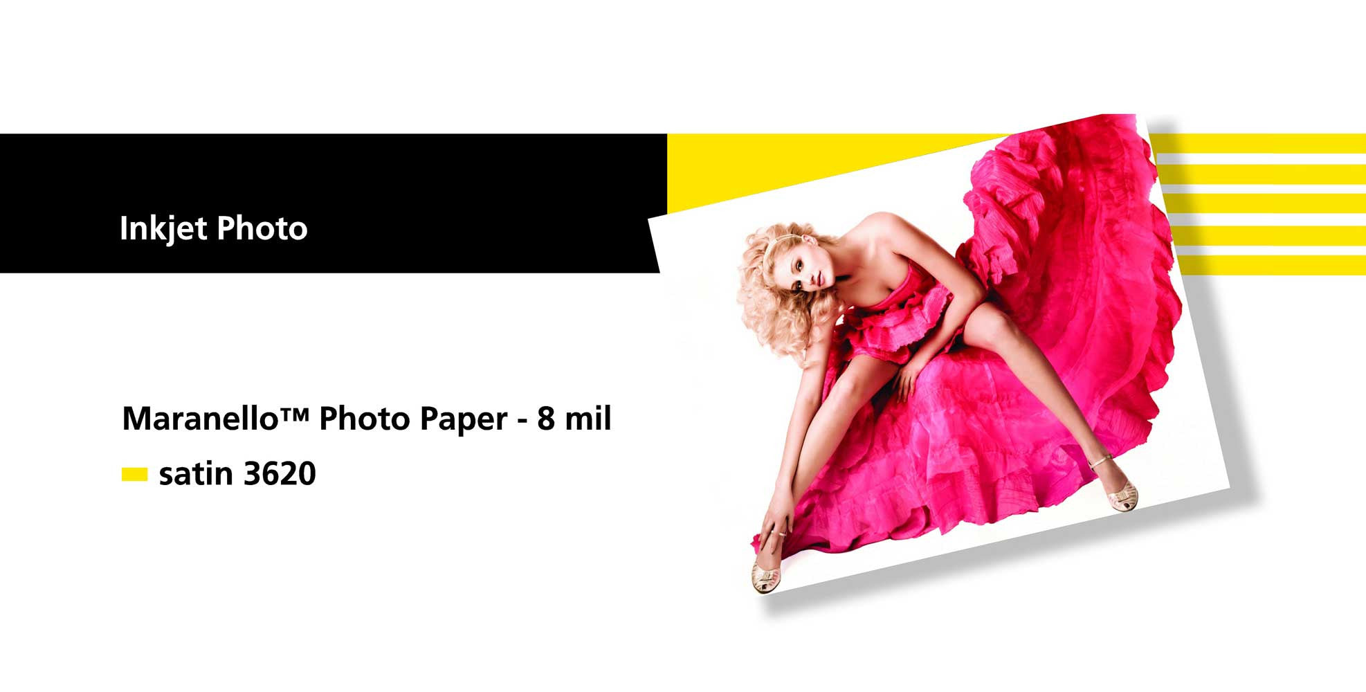 Sihl 3620 Maranello S Photo Paper Satin 8 mil