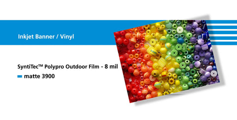 Sihl 3900 SyntiTec Polypro Outdoor Film 8 mil