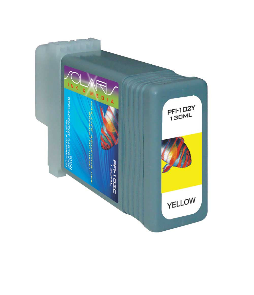 Canon PFI-102Y Yellow Ink Cartridge 0898B001