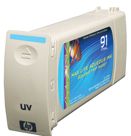 HP 91 Light Cyan Cartridge