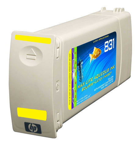 HP 831 Yellow Cartridge