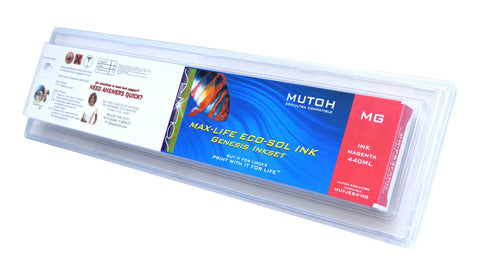 Mutoh Eco-Ultra 440ML Magenta Cartridge