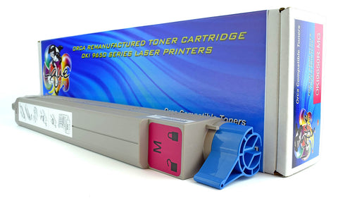 OKI 9650 Toner 42918982 Type C7 Magenta Cartridge (22000 Page Yield) Remanufactured
