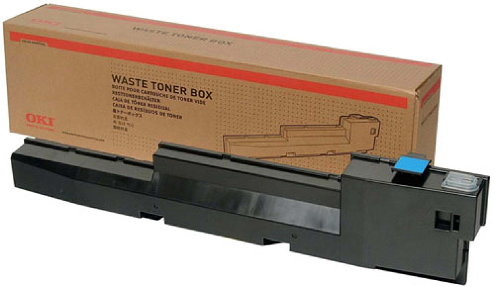OKI  C9600-C9650-C9800 Waste toner collection bottle 42869401