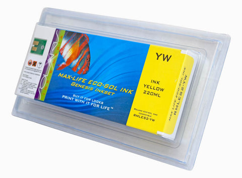 Roland Eco-Sol Max 220ML Yellow Cartridge