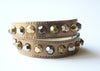 Colette Copper Leather Bracelet