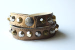 Colette Copper Leather Bracelet - Rose Gonzales