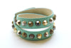 Colette Mint Leather Bracelet