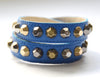 Colette Royal Blue Leather Bracelet