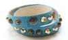 Colette Turquoise Leather Bracelet