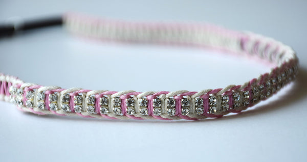Elle Pink and Ivory Headband