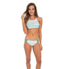 Sea Glass Ombre Crop Top - Versakini