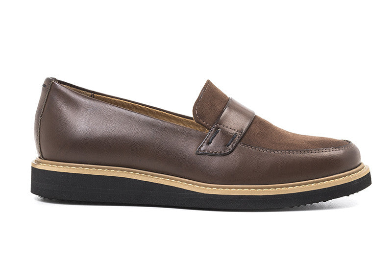 Francisca Loafer Tobacco