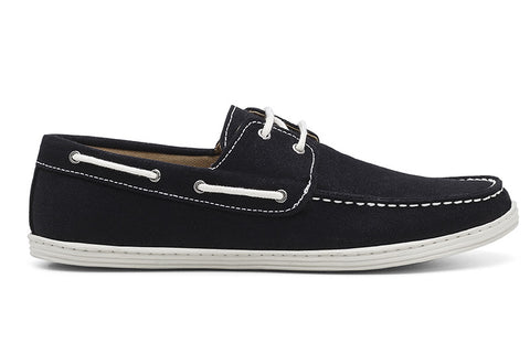 Men's Boat Shoe Black