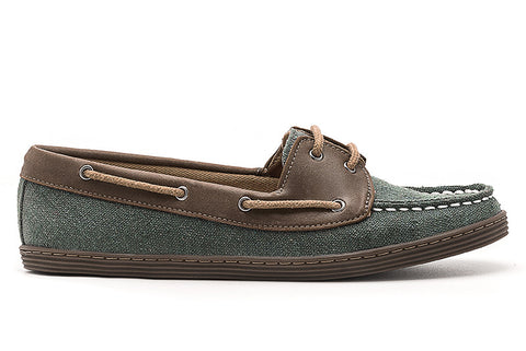 Women's Boat Shoe Olive