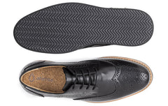 Men's William Wingtip Black
