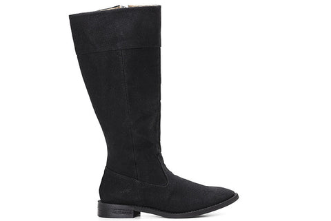 Maria Knee-High Boot Black