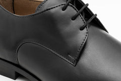 Men's Plain Toe Black