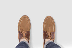 Men's Boat Shoe Brown
