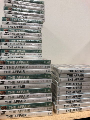 The Affair DVD Seasons 1-3 Set Series