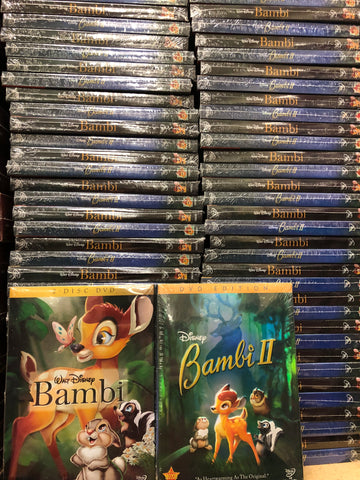 Bambi DVD Movies 1&2 Set