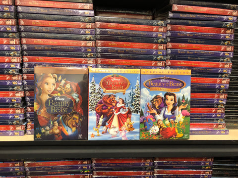 Beauty & the Beast DVD Trilogy Includes All 3 Movies