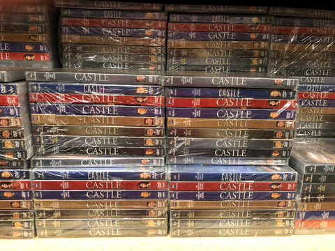 Castle DVD Series Seasons 1-8 Set