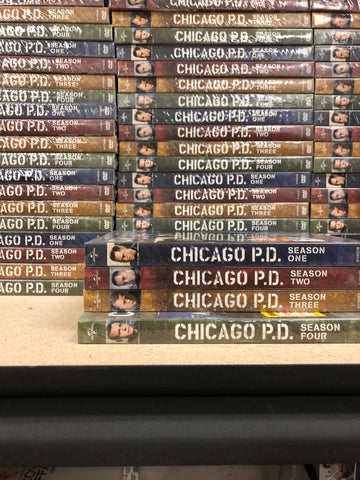 Chicago PD DVD Series Seasons 1-4 Set
