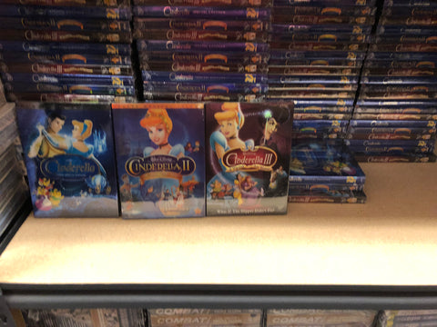 Cinderella DVD Trilogy 1-3 Includes all 3 Movies