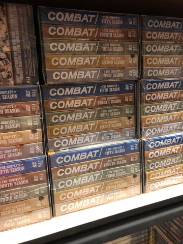 Combat DVD Complete DVD Box Set