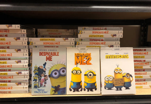 Despicable Me Trilogy DVD Set
