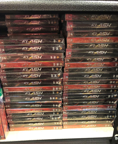 Flash DVD Series Seasons 1-4 Set