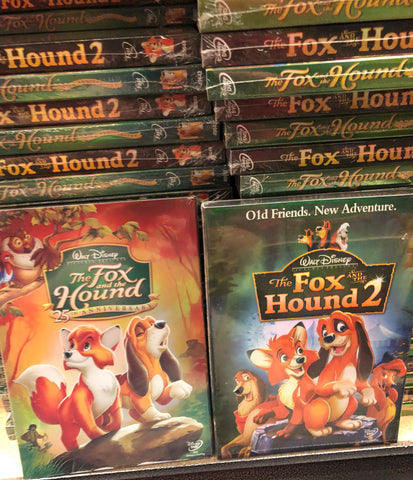 Fox & The Hound DVD Series 2 Movie Set