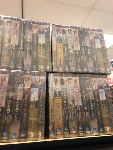 Heartland DVD Series Seasons 1-10 Set