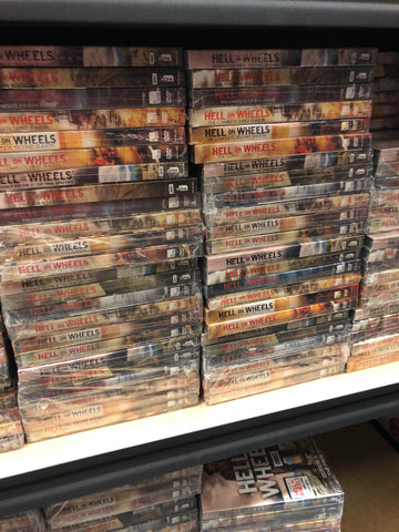 Hell on Wheels DVD Series Seasons 1-5 Set
