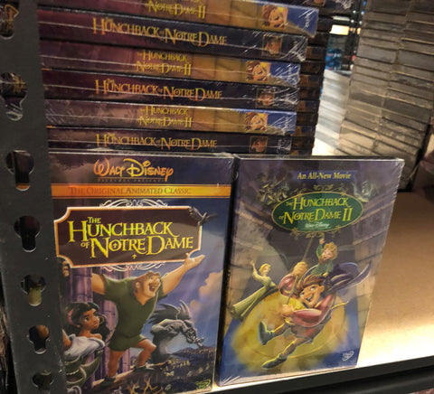 Hunchback of Notre Dame DVD Series 2 Movie Set