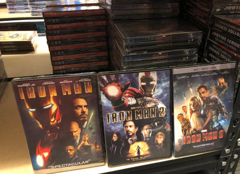 Iron Man DVD Series All 3 Movies Set