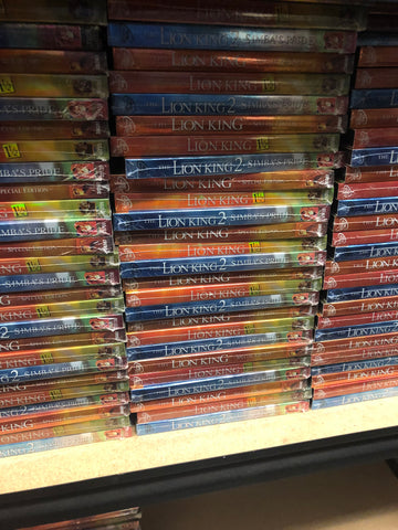 Lion King DVD Series Includes All 3 Movies