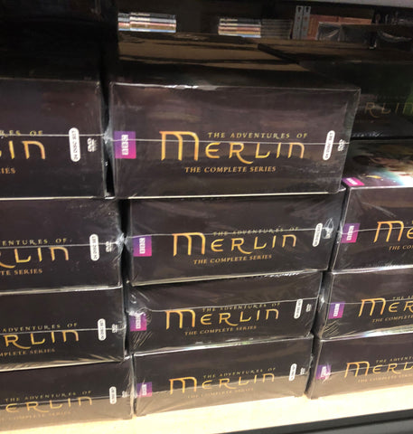 Merlin DVD Series Complete Box Set