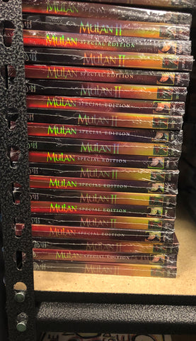 Mulan DVD Series Includes Both Movies