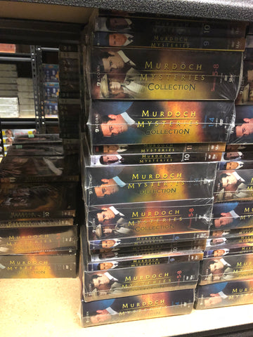 Murdoch Mysteries DVD Series Seasons 1-11 Set