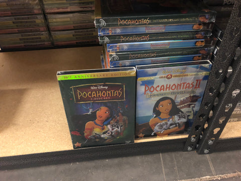 Pocahontas DVD Series 1&2 Movie Set