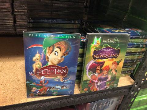 Peter Pan DVD Series 1&2 Movie Set