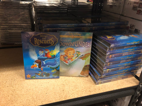 Rescuers DVD Series Movies 1&2 Set