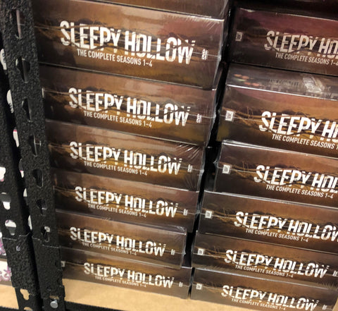 Sleepy Hollow DVD Series Complete Box Set