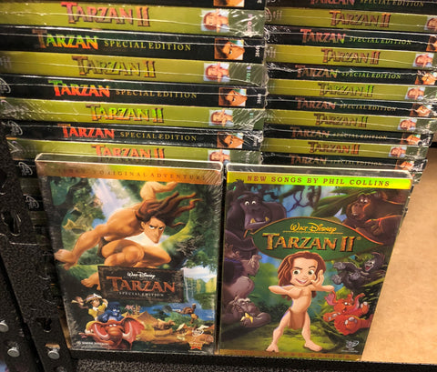 Tarzan DVD Series Movies 1&2 Set